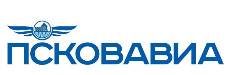 Логотип компании ПсковАвиа