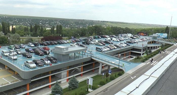 Парковка аэропорта Кишинева