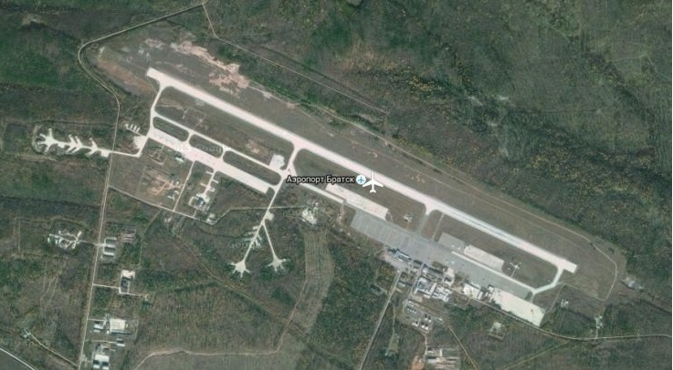 Схема аэродромного комплекса