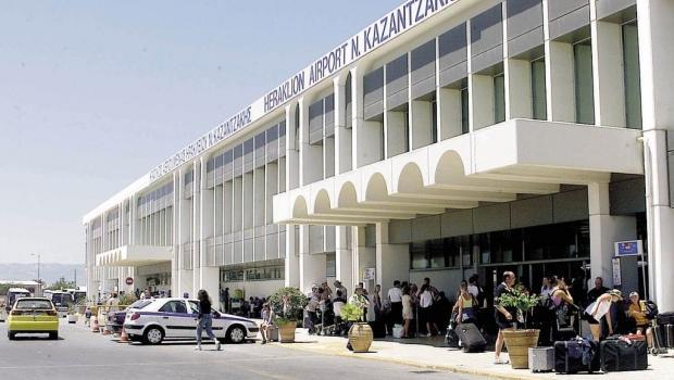Вход в аэропорт Ираклион