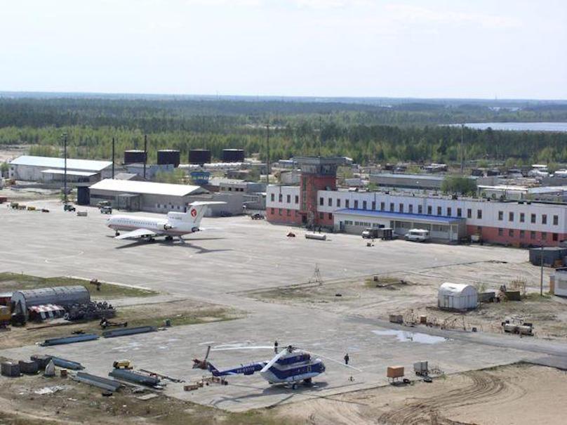 Аэродром аэропорта Белоярский
