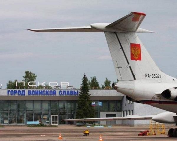 Аэропорт Кресты, город Псков