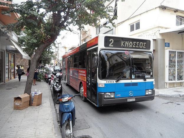 Автобусы на Крите
