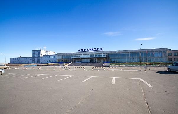 Парковка перед аэровокзалом