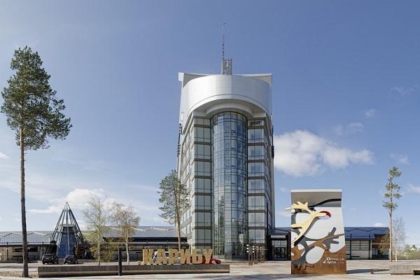 Здание гостиницы Карибу в г. Белоярск