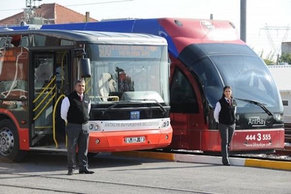 Общественный транспорт из аэропорта в Анталию