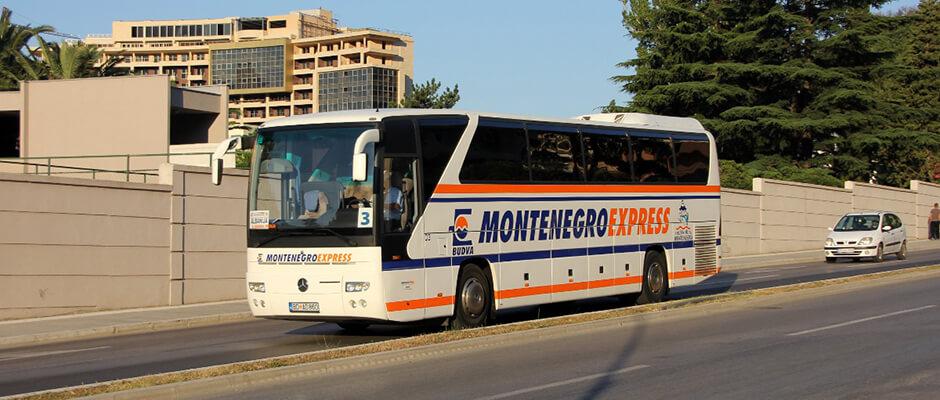 Автобус из аэропорта Тиват