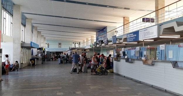 Вид аэропорта внутри