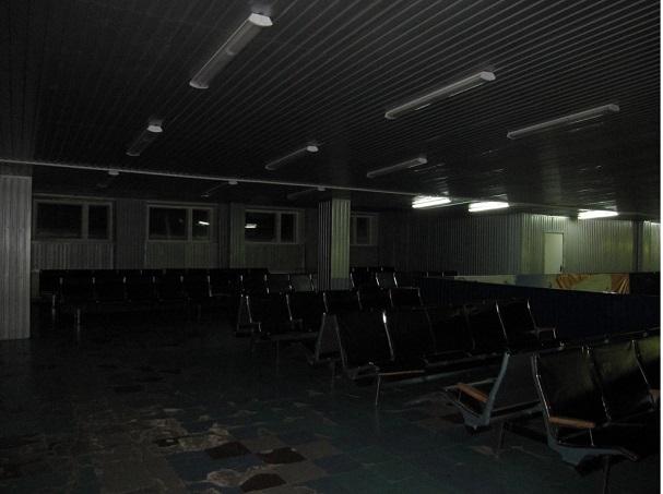 Зал ожидания на втором этаже