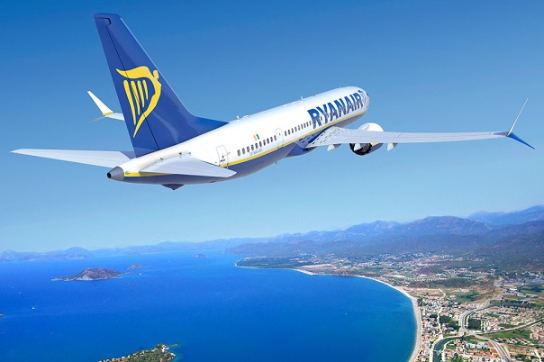 Легко узнаваемый логотип компании Ryanair