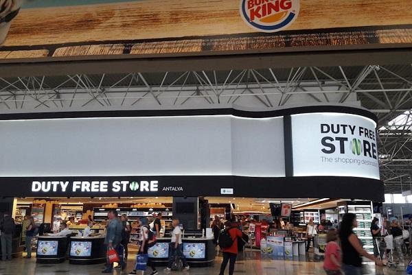 Магазин Дьюти-Фри в аэропорту Анталия