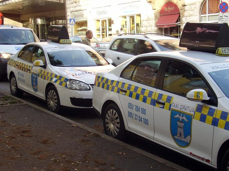 Такси Хорватии