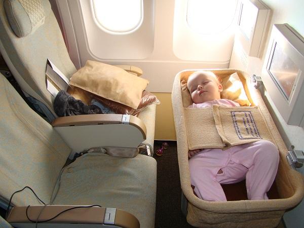 Специальные люльки в самолете