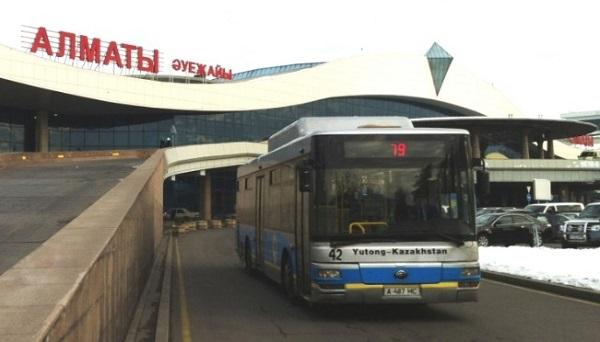 Общественный транспорт до аэровокзального комплекса