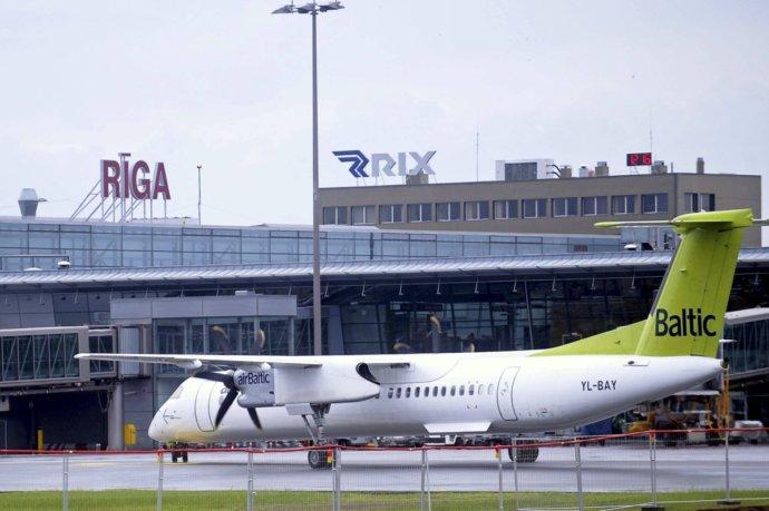 Гостей города встречает аэропорт Рига