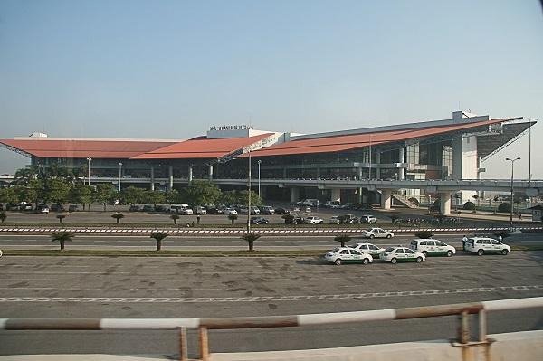 Старое здание аэропорта в Ханое