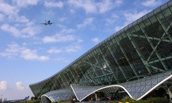 Здание аэропорта – одно из самых современных и оригинальных в плане архитектуры сооружений среди аэропортов мира
