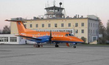 Здание аэропорта стандартное, схожее со многими типовыми аэропортами прежних лет