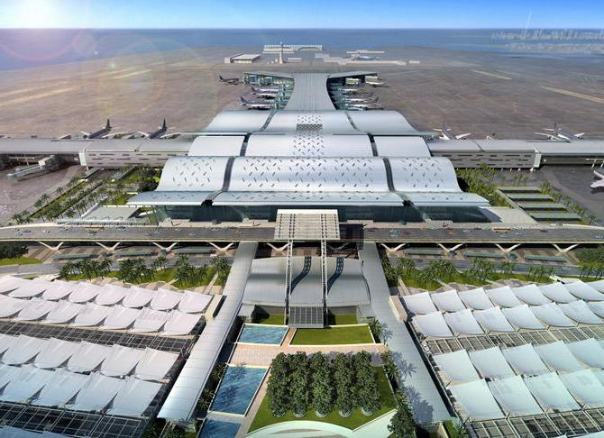 Общий вид аэропорта Доха