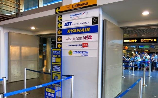 Аэропорт принимает самолеты самых известных авиакомпаний мира