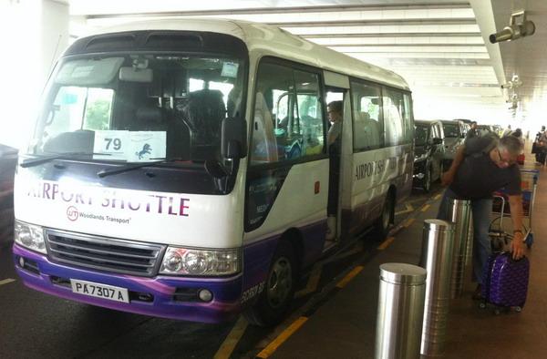 Шаттл от аэропорта до Tanah Merah