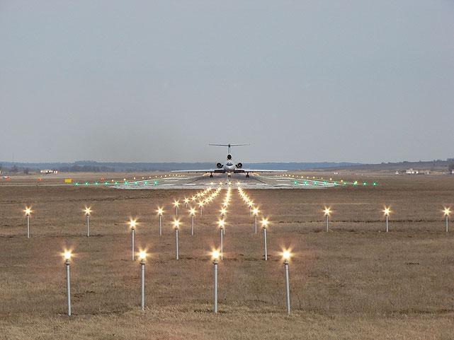 Аэропорт готов к приему самолетов