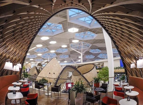 Шик, блеск, красота бакинского аэропорта способны впечатлить даже искушенного путешественника