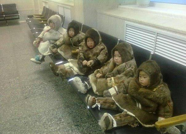 Маленькие ненцы готовы в полет