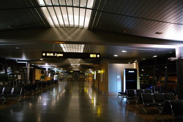 Зал ожидания в ожидании пассажиров