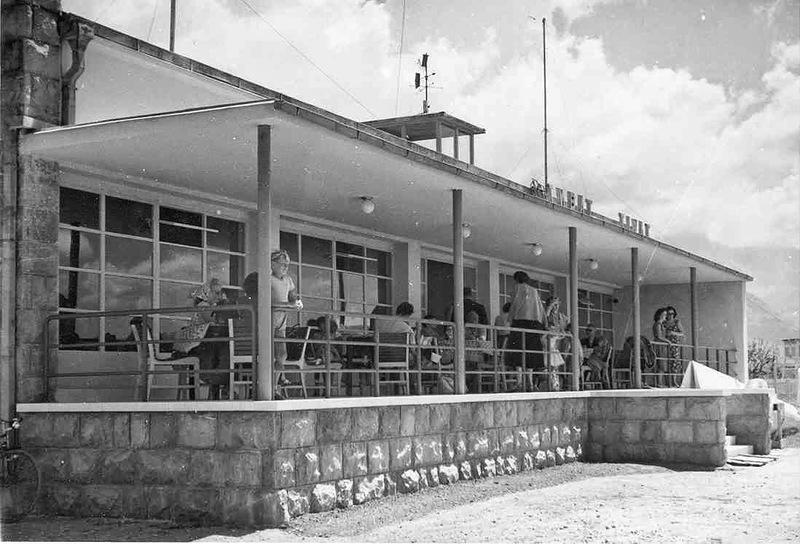 Первый ресторан в аэропорту Тиват
