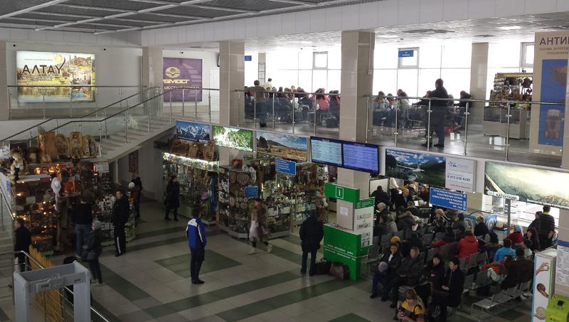 Внутренний вид аэровокзала