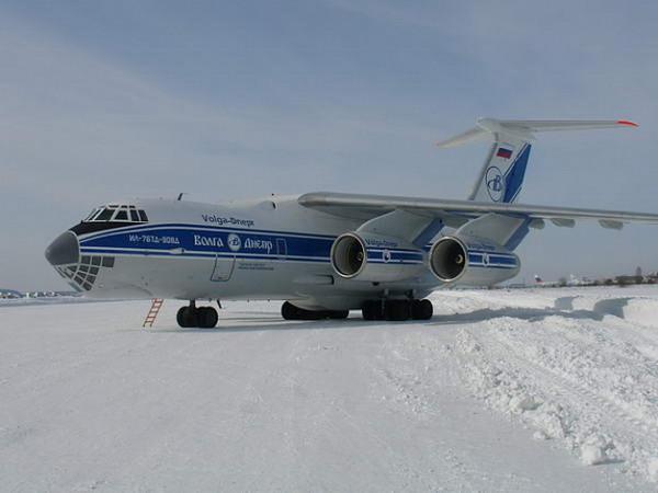 ИЛ-76 Д – лидер по грузовым перевозкам в мире