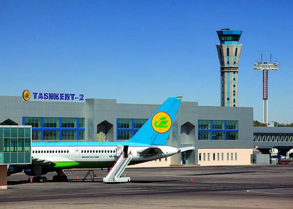 Международные рейсы обслуживает терминал Ташкент-2