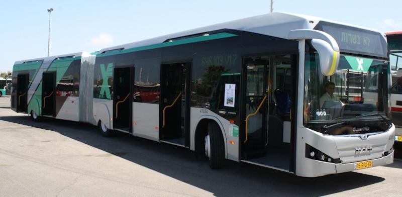 Автобусный маршрут из Овды в Эйлат
