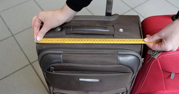 Замеры параметров багажа