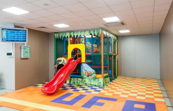 Игровая комната в аэропорту Уфа