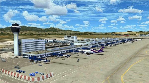 Как снаружи выглядит крупнейший аэровокзал Греции