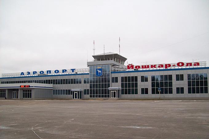 Аэропорт Йошкар-Ола, вид снаружи