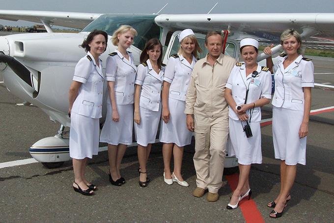 Персонал воздушного порта столицы республики Марий Эр