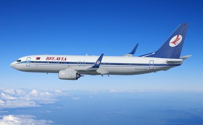 Самолет авиакомпании «Белавиа»