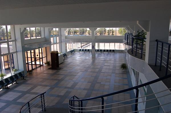 Как выглядит элистинский аэровокзал внутри