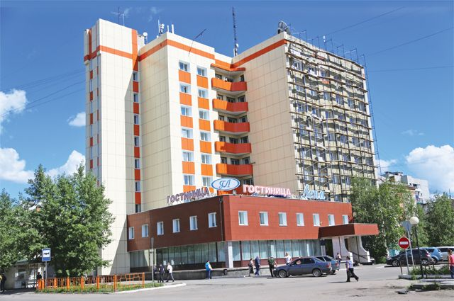 Гостиница Лена, где часто останавливаются путешественники, прибывшие в аэропорт города Усть-Кут