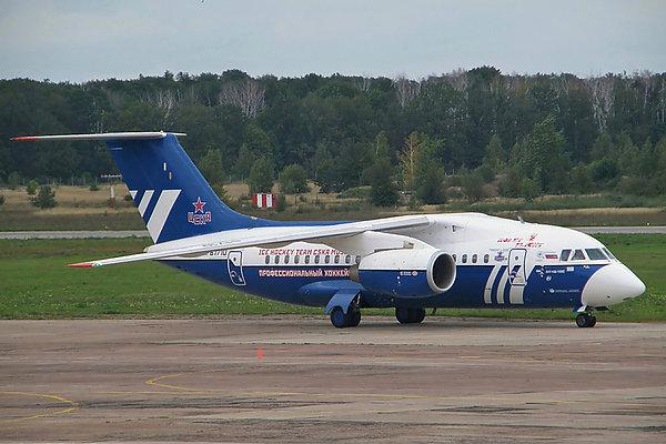 Ан-148-100Е ЦСКА авиакомпании Полет