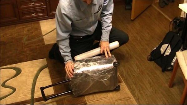 Багаж, запакованный собственными руками