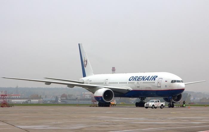 Самолет Оренбуржье