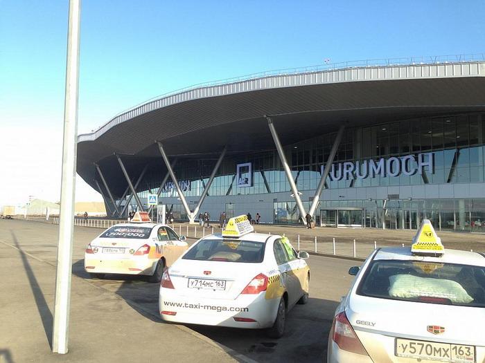 Вид на аэродром Курумоч