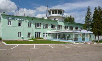Аэропорт, вид на терминал