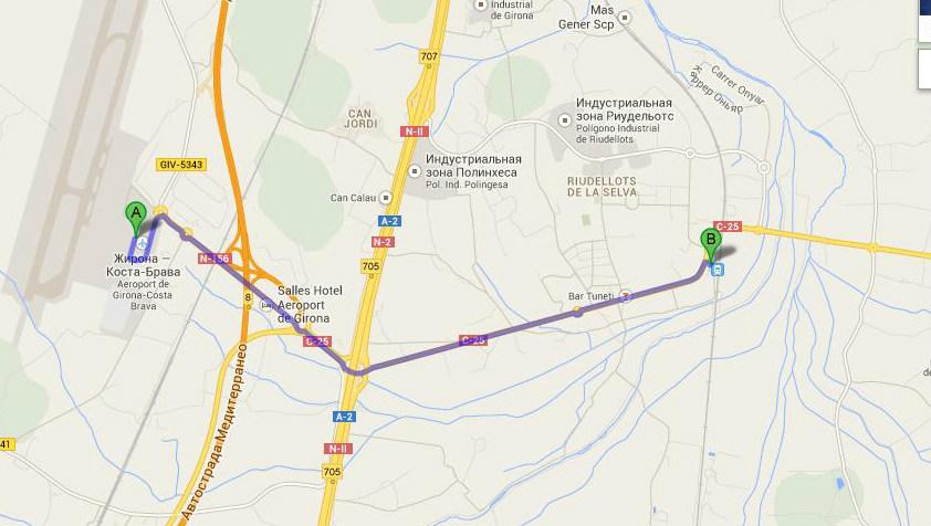 Схематичное изображение аэровокзала показывает карта