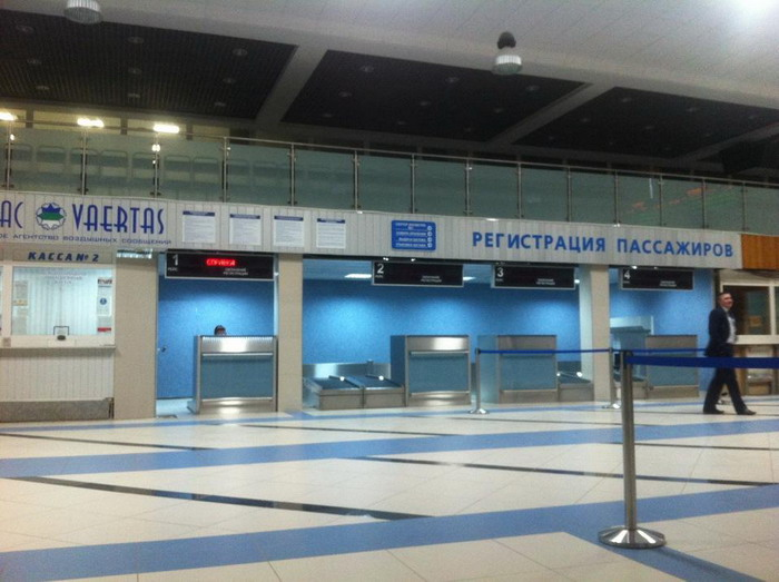 Как выглядит аэровокзал внутри