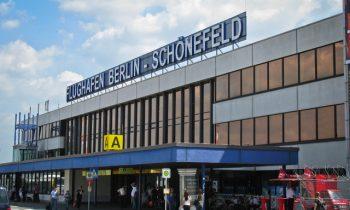 Фасад аэропорта Шенефельд